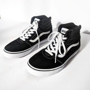 New Vans High Top Old Skool Black White Sneakers